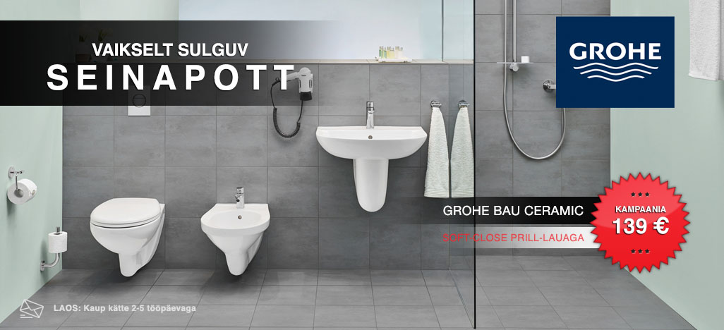 Seinapott Grohe Bau Ceramic Soft Close