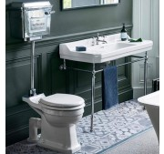 WC-pott Burlington Rimless kroom