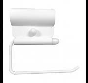 WC-paberihoidja tugikäepidemele Faneco valge