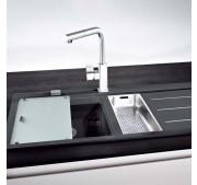 Köögivalamu Franke MTF 651-100 onyx vasak