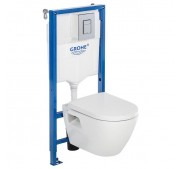 WC-komplekt Grohe Solido Perfect 4-in-1