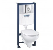 WC-komplekt Grohe Bau Ceramic 3-in-1