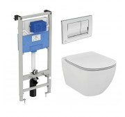 WC-komplekt Ideal Standard Tesi Aquablade 3-in-1