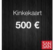 Kinkekaart 500 euro väärtuses