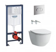 WC-komplekt Laufen Pro Slim + Grohe