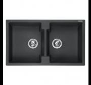 Köögivalamu Reginox Amsterdam 20 Black Silvery - Outlet diil