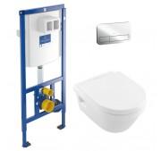 WC-komplekt Villeroy & Boch 3-in-1